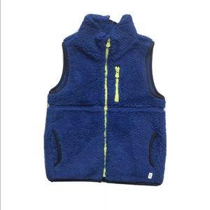Baby Gap Sherpa Fleece Full Zip Vest